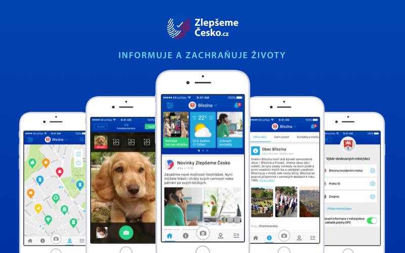 Jednotnou platformu Zlepšeme Česko rozšíří aplikace Lepší místo