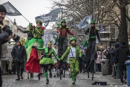 Tour sv.Patrika startuje vsobotu dopoledne na smíchovské Náplavce