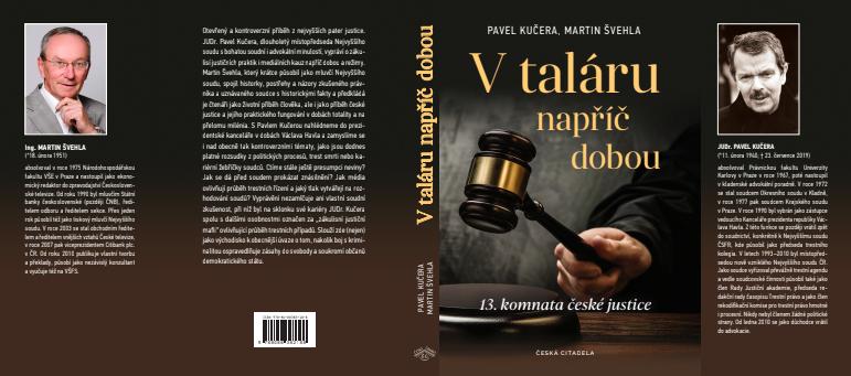 Vychází kniha Martina Švehly o soudci Kučerovi: V taláru napříč dobou