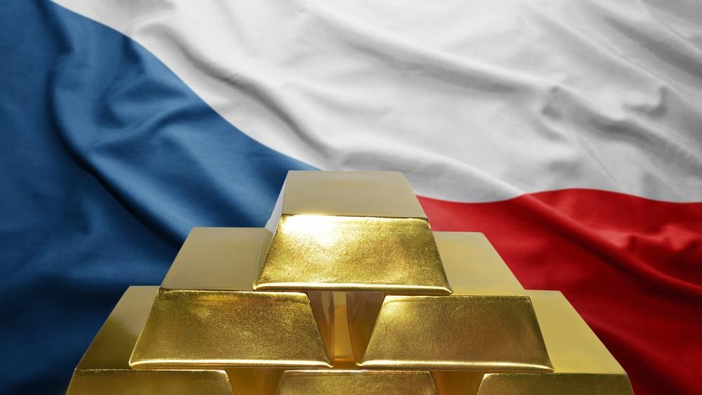 Zlatý index stoupá. ČNB znovu nakupuje zlato do devizových rezerv